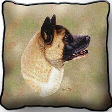 """17"""" x 17"""" Pillow Cover - Akita by Robert May 3322"""