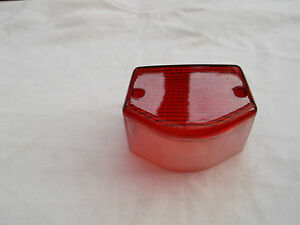 YAMAHA TAIL LIGHT LENS FITS DT125 LC MK1 1982-86 GOOD QUALITY PART BC38159