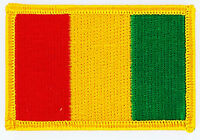 GUINEA GUINEAN FLAG PATCHES backpack  PATCH BADGE IRON ON NEW EMBROIDERED