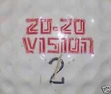 (1) Vintage 20-20 Vision Kfyr-Tv Logo Golf Ball Balls