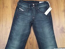 "DIESEL RONHAR 008B2 STRETCH BOOTCUT WOMENS JEANS W25 L32 UK6 ""NEW"""