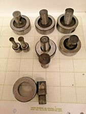 Metal punch and die sets of 7
