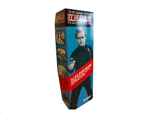 "Gilbert Toys Man From U.N.C.L.E Illya Kuryakin 12"" Figure Repro Box"