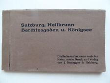 Postkartenheft Salzburg Heilbrunn Berchtesgaden Königsee 12 AK