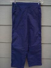 Lady Foot Locker Pants Sz M Womens Pull On Athletic Blue Sport
