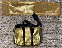 💥Mezco One:12 GOLD GOMEZ AGENT GOLD SCARF & DUFFLE BAG Accessories Set Only 💥
