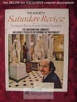 Saturday Review April 8 1972 SIMONE DE BEAUVOIR LOBBYISTS CARYL RIVERS