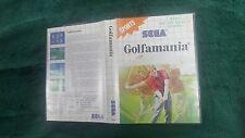 Golf Mania For Sega Master System