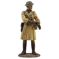 William Britain 23104 US Officer in Trench Coat 1917-18