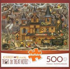 Charles Wysocki Trick or Treat Hotel Buffalo Games 500Pc Jigsaw Puzzle NIB