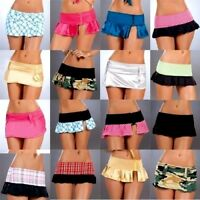 Lot Wholesale Rave Skirt Micro Mini Gogo stripper Dancer Sexy Roller S M L