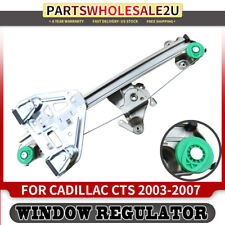 FOR Cadillac CTS 03-07 Rear Right Power Window Lift Regulator w//o Motor 15277679