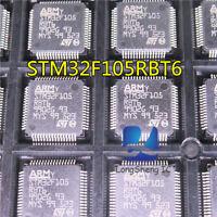 1PCS STM32F105RBT6 STM32F105 RBT6 QFP64 ARM Microcontroller