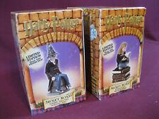 (2) Harry Potter Dept. 56 Secret Boxes, Hermione The Bookworm & The Sorting Hat
