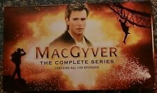 MacGyver: The Complete Series (39 Disc Set) Dvd Box - Very rare