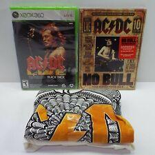 AC/DC FAN PACK Xbox 360 Edition AC/DC LIVE ROCKBAND BUNDLE (LOOK DESCRIPTION)