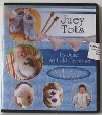 1 x Debbi Moore Designs Juey Tots Knitting Patterns CD Rom (295101)