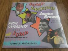 JAMES BROWN PRESENTS HIS BAND - JUMP AROUND NEW LP SEALED