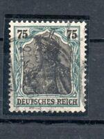 Germania Freimarke 1919, Mi.Nr. 104 b F heute d  Echt gestempelt  geprüft BPP