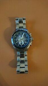 Fossil CH2589 Herren Uhr/Armbanduhr Silber Chronograph