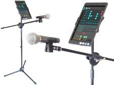 Smartphone Tablet Halter mit Mikrofonstativ universelle Größe Samsung iPhone etc