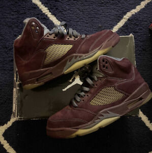 Air Jordan 5 Retro LS Burgundy
