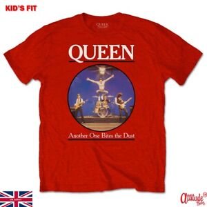 Queen Kids T Shirts-Queen Another One Bites The Dust-Official-Kids Rock Tees