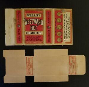 Westward Ho cigarette packet - Wills (New Zealand)