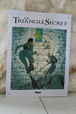 Plate sheet metal - The Triangle Secret - by Glénat - Mullard 2002
