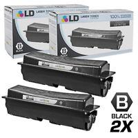LD Comp Kyocera-Mita TK-132 2pk Black FS-1028 FS-1128 FS-1300D FS-1350DN