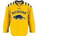 Reebok Michigan Wolverines Hockey Jersey New Child 4-7 $45