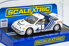 Scalextric C3493 Ford RS200 #1 / Rally of Sweden 1986 / Stig Blomqvist / BNIB
