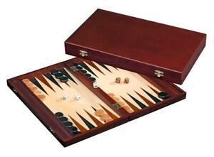 """Backgammon Oslo- 41CM / 16"""" - Tradicional Estrategia Tablero Game-Travel"""