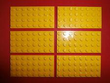 LEGO CITY / classique 6 panneaux de construction 3035 en jaune 4X8