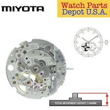 Original Miyota 82S5 Japan Automatic Movement, 2 Hands, Small Second – NEW!