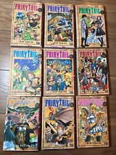 Lot 9 Mangas Fairy Tail Tome 1 à 9 - Comme Neuf !