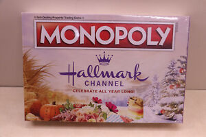 """New Sealed Hallmark Channel Monopoly Board Game Celebrate """" All Year Long """""""