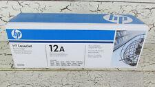 HP Genuine OEM LaserJet Q2612A 12A Black Printer Toner Cartridge New Sealed