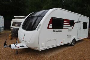 Swift Lifestyle 6 TD 2016 6 Berth Fixed Bunk Beds Caravan + Motor Mover