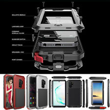 Shockproof Aluminum Heavy Duty Case Cover Samsung S20 Note 10 Plus S10 Note 8 9