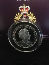 More details for 2017 the house of windsor centenary .925 piedfort £5 five pounds |pennies2pounds