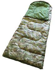 SUNNCAMP JUNIOR CAMOUFLAGE SLEEPING BAG camping childrens kids scouts SB1116NP