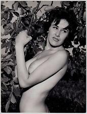 "Busty nude WOMAN W enticing Look/verfüherische nude * VINTAGE 60s Photo ""L"""
