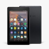 "Kindle Fire 7 Tablet with Alexa, 7"" Display, 8 GB - U.K. stock 2017 model !!"