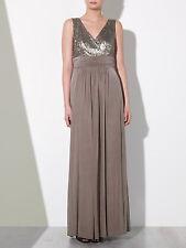 John Lewis Judy Sequin Jersey Maxi Dress Wedding Bridesmaid Size 10 RRP £180