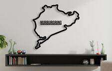 Nurburgring Race Track Formula 1 Moto GP Motorsport Racing 3D Acrylic Wall Art
