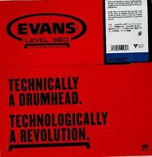 "Evans TT012RBG DRUM HEAD 12"" Resonant Black"