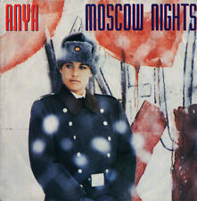 ANYA - Moscow Nights - Rocket Record Company 1985 - 45rpm - NEAR MINT !