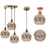 Modern ceiling pendant light lamp shade chandelier shades crystal drop Lights