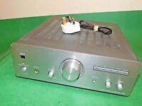 DENON Vintage Stereo Integrated Amplifier Amp UPA-F10 Silver Grey Quality Phono